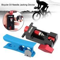 Ferramenta da imprensa da agulha do tubo da bicicleta dispositivo do levantamento da agulha do óleo|Ferramentas p/ reparo de bicicletas| |  -