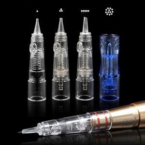 Image 2 - Biomaser 10PCS Permanet Makeup Tattoo Needle 3/5/7RS for Machine Car Disposable Permanent Cartridge Tattoo Needles