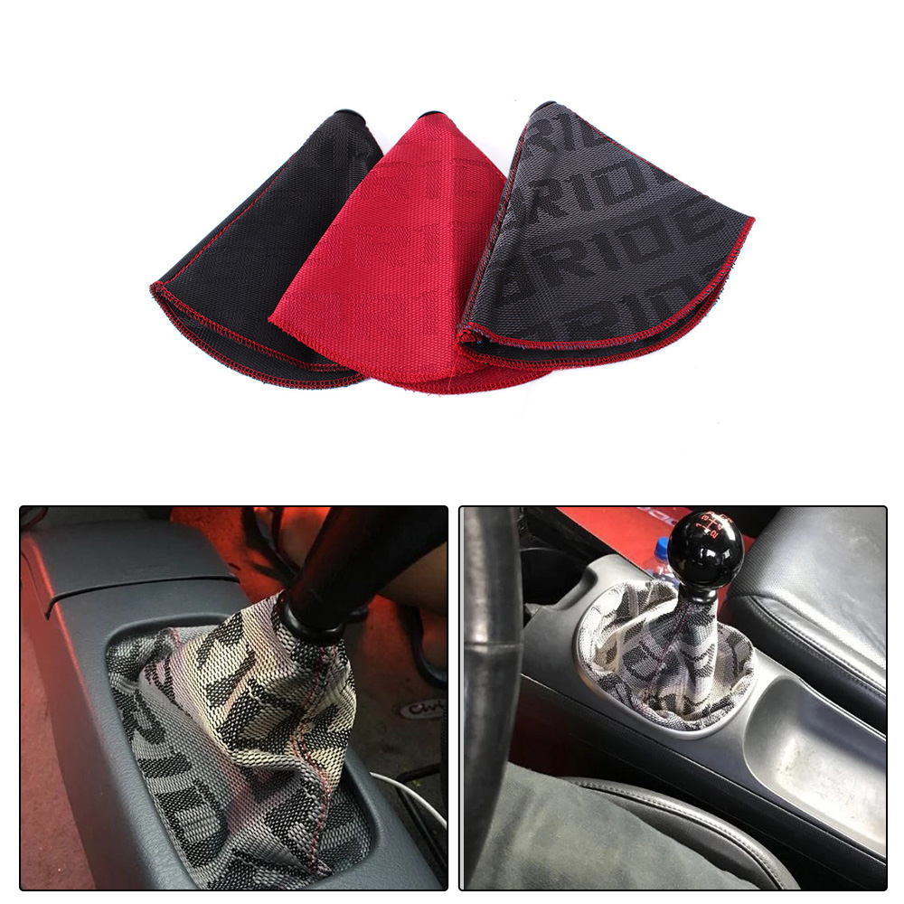 BRIDE HYPER FABRIC Shift Knob Shifter Boot Cover MT//AT-Honda Accord Civic Acura