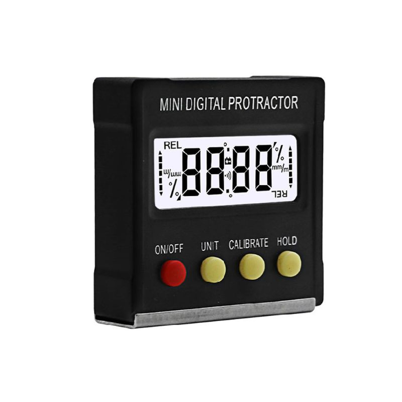 Mini Electronic Digital Display Magnetic Digital Inclinometer Protractor Slope Level Measuring Instrument|Protractors| |  - title=
