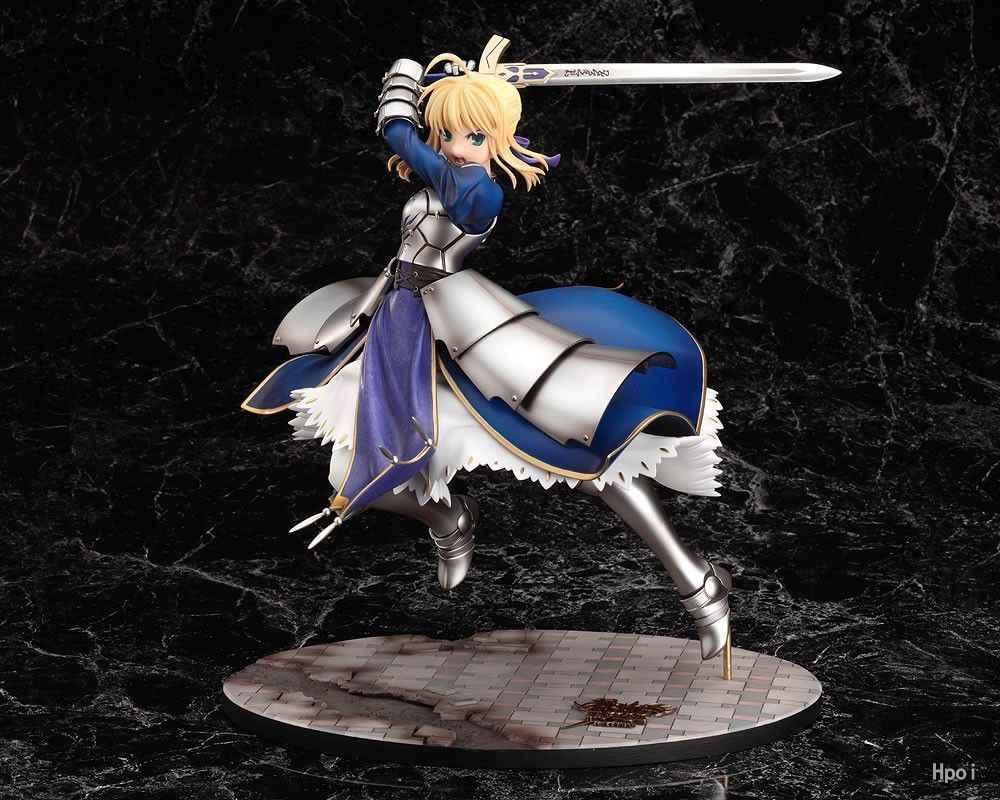 Nova 25 centímetros anime Fate Stay night Sabre Lírio boneca a Espada da Vitória de figuras de ação Collectible toy Modelo GSC brinquedos