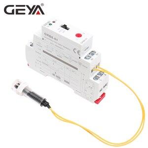 Image 5 - Darmowa wysyłka GEYA GRB8 01 szyna Din przełącznik zmierzchowy fotoelektryczny zegar czujnik światła przekaźnik AC110V 240V Auto ON OFF