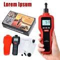1Pc New HT-522 Digital Rev Counter Tachometer Laser Optical Tachometer Handheld Non-contact Measurement Tools