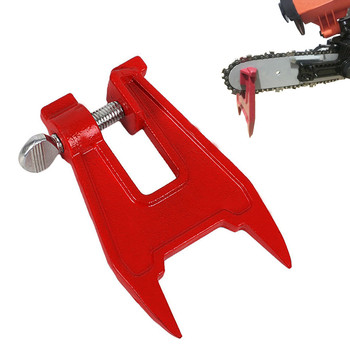#20 Stump Vise Saw Chain Sharpening Filing Tool Bar Clamp Chainsaw Accessories Home improvement Dropshipping