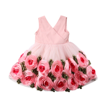 2018 Brand New Toddler Infant Kids Child Party Wedding Formal Dresses Rose Girl Princess Dress Flower Chiffon Sundress Kids 2-8T 2018 brand new toddler infant kids child party wedding formal dresses rose girl princess dress flower chiffon sundress kids 2 8t