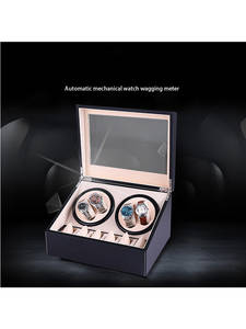 Rotating-Watch-Box Automatic Turnfinger Wooden Professional Mute Elegant-Design Quality