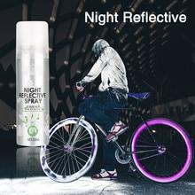 Ночной светоотражающий спрей-краска, отражающий знак безопасности, анти-авария, для езды на велосипеде, для семьи, Новое поступление