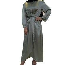 Мусульманское модное платье абайя кафтан женская мусульманская