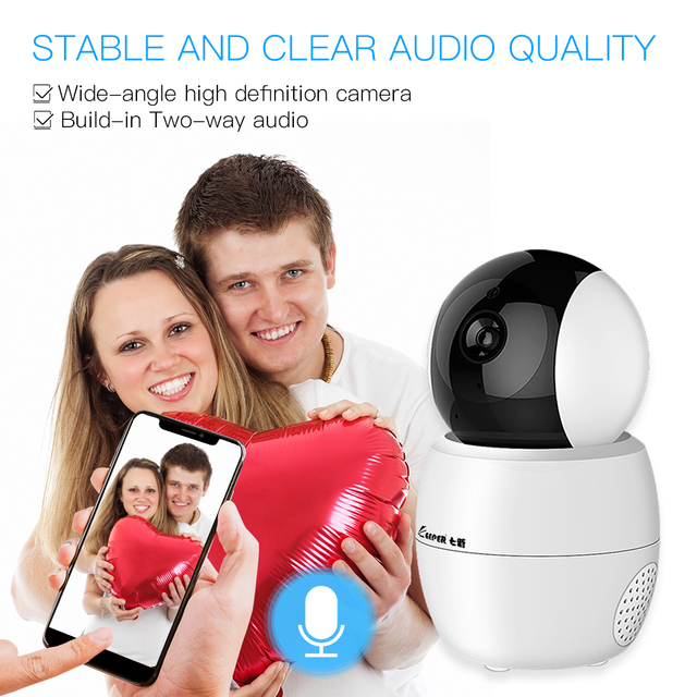 Tuya caméra intelligente WiFi sécurité caméra rotative HD 1080P réseau bidirectionnel Audio caméra IP travail avec Google Assistant