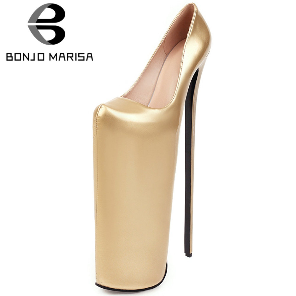 BONJO Marisa Womens Genuine Leather Flower Print Gladiator Sandals High Heels Open Toe Platform Shoes Woman B