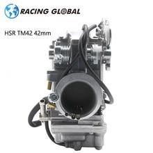 Alcon-corrida carburador hsr tm42 42mm mikuni modelo carburador para harley flhfb flhrci flhs flht 600cc-900cc