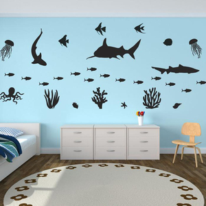 Under the Sea Theme Wall Decal
