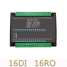 16DI/16RO 16 الطريق العزلة الرقمية المدخلات 16 الطريق التتابع وحدة الإخراج الحصول على البيانات لوحة تحكم RS485 Modbus للصناعة