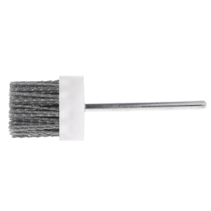 Deburring Abrasive Steel Wire Brush Head Polishing Nylon Wheel Cup Shank 40mm