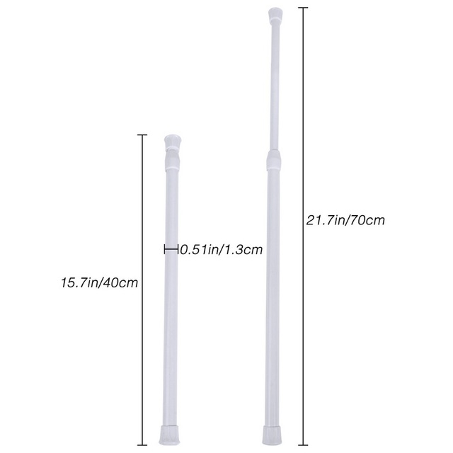 Adjustable Telescoping Shower Curtain Rods 4