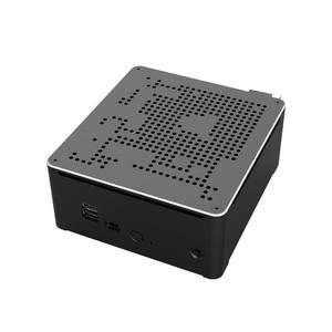 Image 5 - Intel Xeon E 2186M/Xeon 2*2666MHZ DDR4 מיני מחשב שרת Windows 10 פרו UHD גרפיקה 630 HDMI מיני DP 4K WiFi BT מחשב שולחני