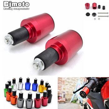 Motorcycle handlebar Counterweight grips ends 7/8'' 22mm Handle bar Cap Hand Grips Bar End Plug For Kawasaki Z750 Z800 Z1000 for kawasaki z750 r3 z800 r1 r6 mt 07 mt09 motorcycle throttle booster handle clip grips throttle clamp cruise aid control grips