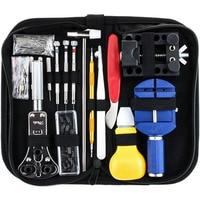 147 PCS Uhr Reparatur Kit Professionelle Frühling Bar Tool Set  Uhr Band Link Pin Werkzeug Set mit Koffer-in Handwerkzeug-Sets aus Werkzeug bei