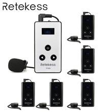 RETEKESS Wireless Audio Tour Guide System 99 Channel Microphone Transmission System 195-230MHz For Simultaneous interpreting цена в Москве и Питере