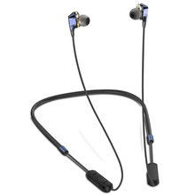 Newest ALWUP G02 Bluetooth Earphone Wireless Headphones Dual Drivers Stereo Magnetic Neckband Sport for Phone with mic