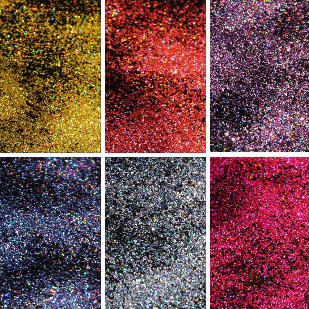 Nail Glitter Poeder Laser Rose Pink Nail Art Uv Gel Polijsten Chrome Nail Poeder Vlokken Manicure Pigment Decoraties CHSZF01-018