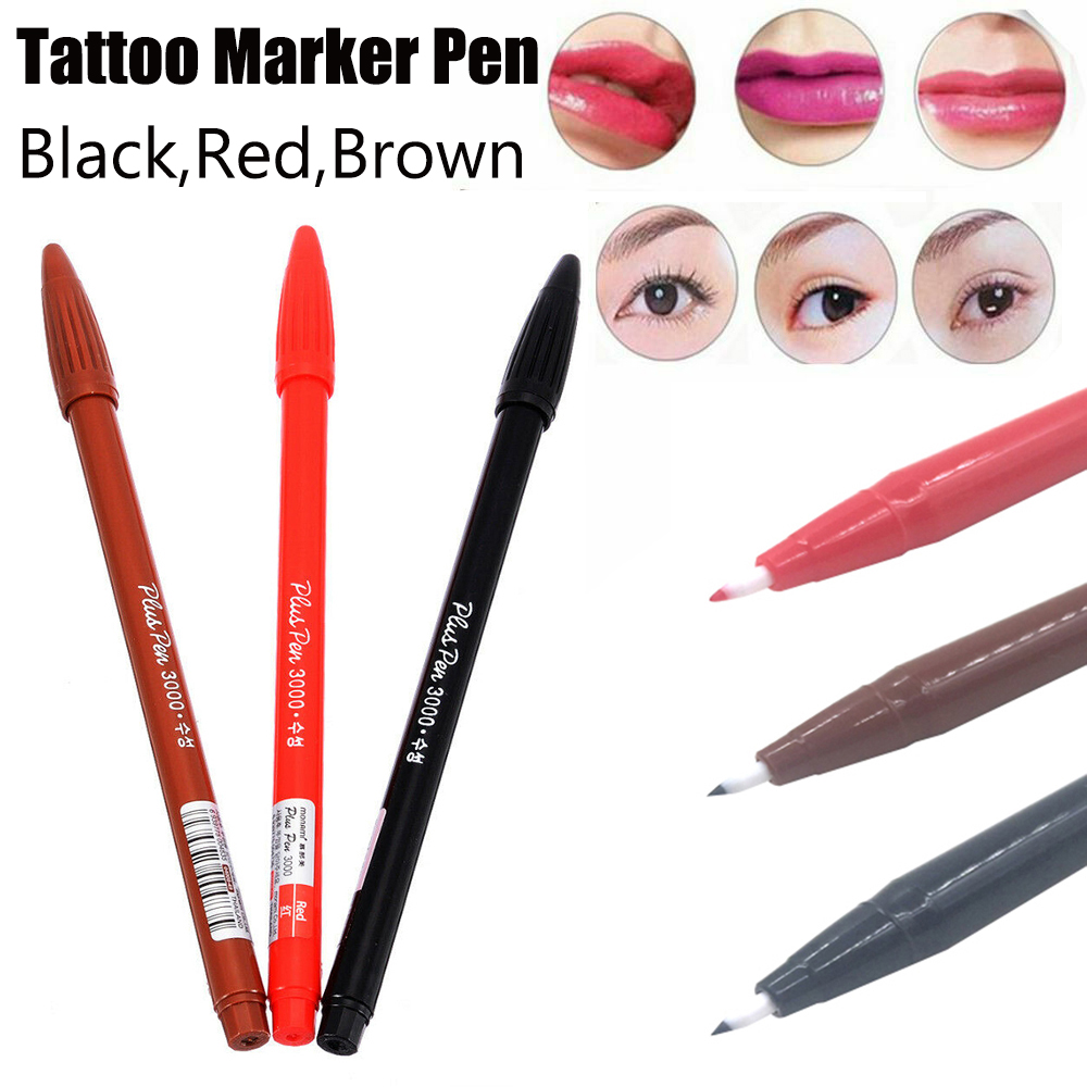 Microblading Pen Surgical Skin Pen Scribe Tool Tattoo Piercing Permanent Tattoo Accessories Tattoo Pencil Makeup Supplies
