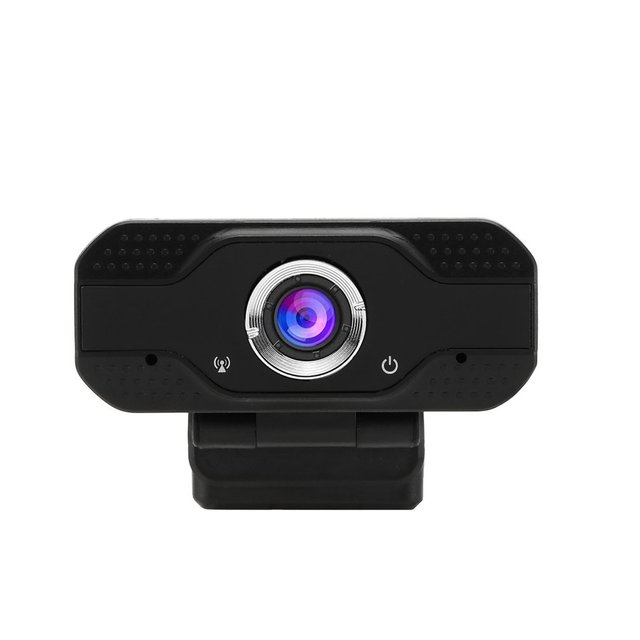 HD 1080p PC Webcam Mini Computer USB Webcam with Microphone 1920X1080 Resolution Plug for Home Office Camera