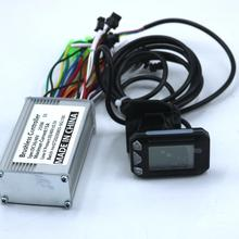 Greentime 24/36V/48V 250W Bldc Motor Controller E-Bike Scooter Brushless Speed Driver en S5 Lcd Display