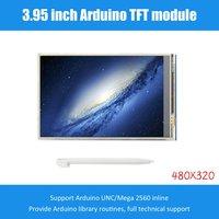 3.95 polegada tft lcd tela sensível ao toque 480x320 ch340g mega 2560 placa r3 para arduino tela de substituição