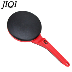 JIQI Electric Crepe Maker Pie Baking Pan Non-stick Househeld Pancake Cooking Machine Chinese Spring Roll Biscuit Pizza Griddle