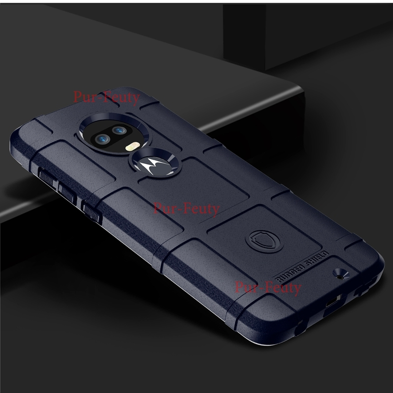Armor Shield Phone <font><b>Case</b></font> For <font><b>Motorola</b></font> Moto G6 XT1925 Play G7 Plus Z3 Z4 Force P50 P40 P30 Note One Power <font><b>Vision</b></font> Action Cover image