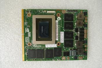 Kai-tam orijinal GTX 580M GTX580M 2GB N12E-GTX2-A1 Dell Alienware için ekran kartı M17X M18X grafik kartı GPU değiştirme