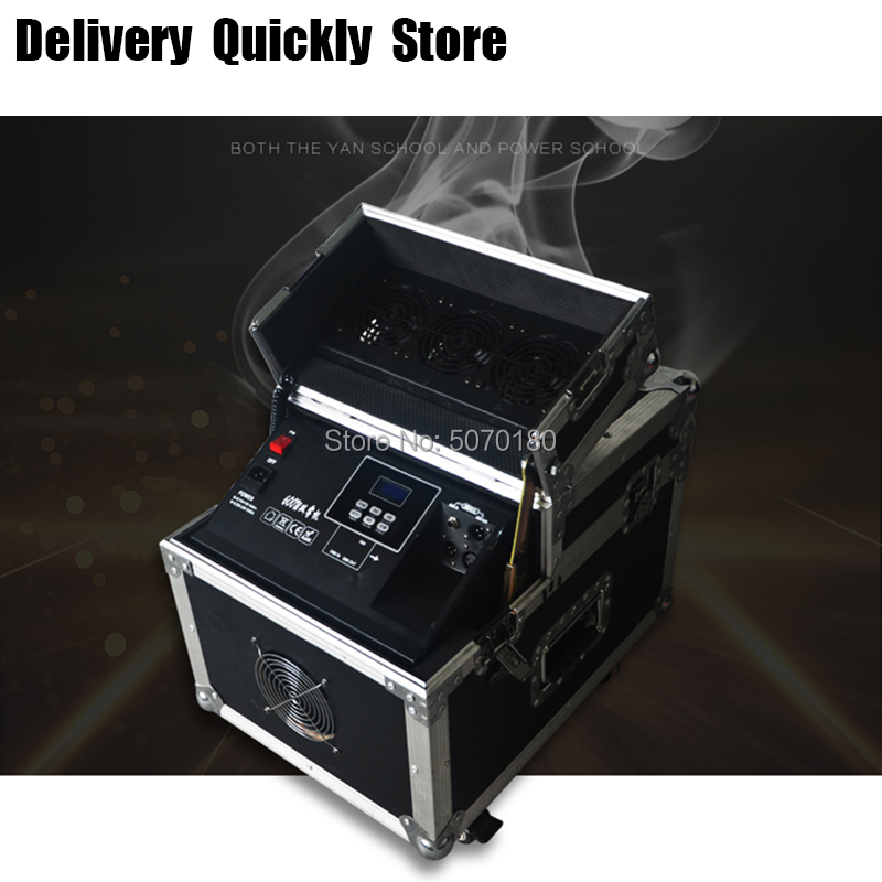 Showtime 600W Haze machine dmx control Fog <font><b>Hazer</b></font> Smoke machine with flight case for <font><b>stage</b></font> effect as Fairytale wonderland image