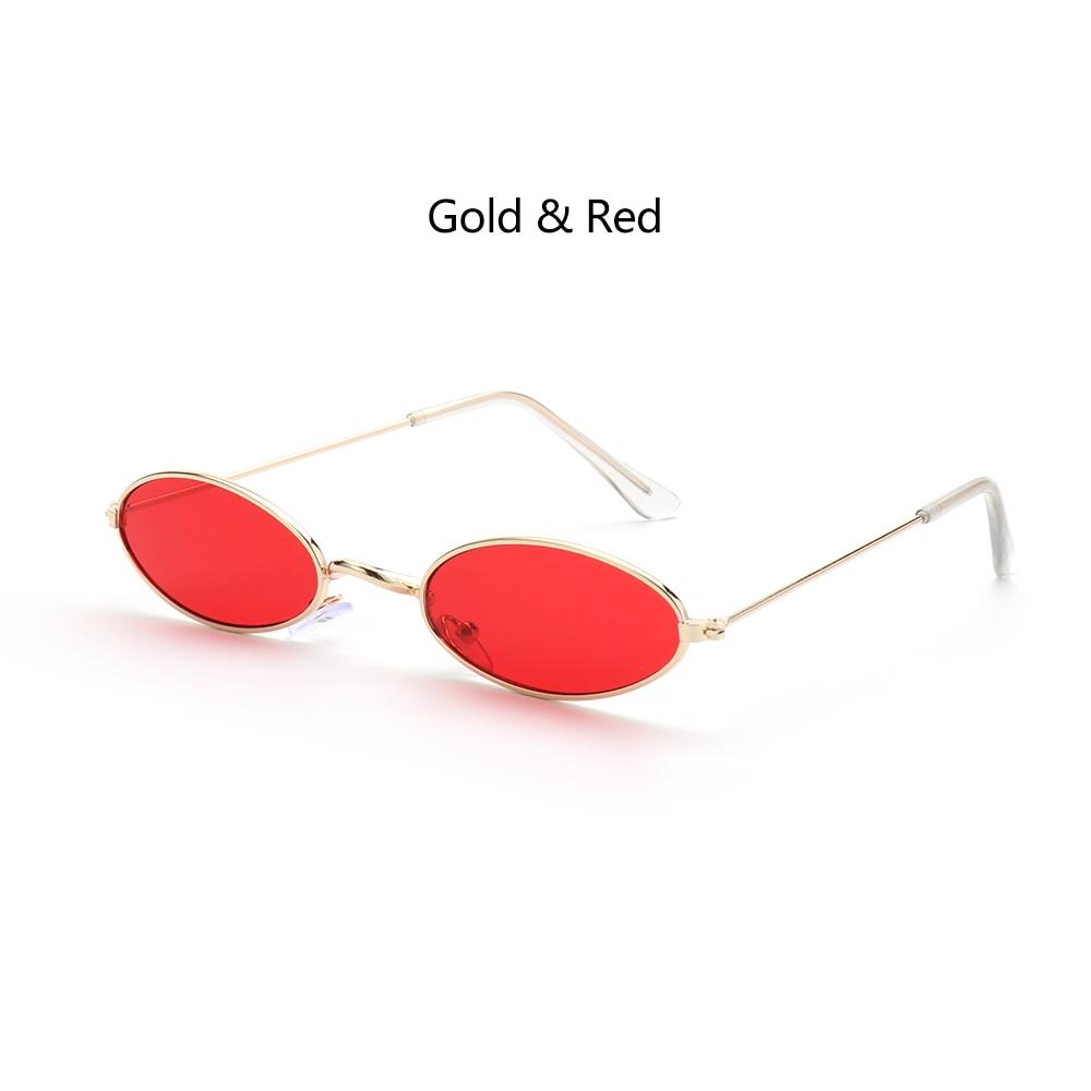 Fashion Vintage Shades Sun Glasses Elegant okulary Retro Small Oval Sunglasses for Men Women Eyeglasses gafas oculos 14