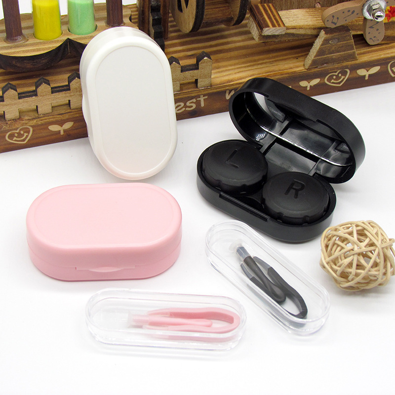 Contact Lens Case Good Quality Contact Lens Box Thickened Material Contact Lens Partner Box