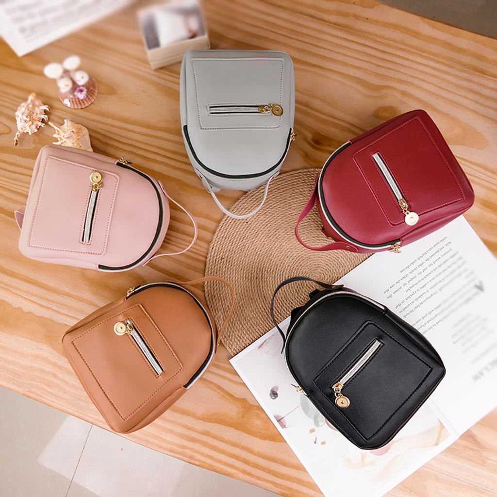 Toys For Children Mini Shoulder Bag For Teenage Girls Kids PU Leather School Backpack Mobile Phone Messenger Purse New Fashion