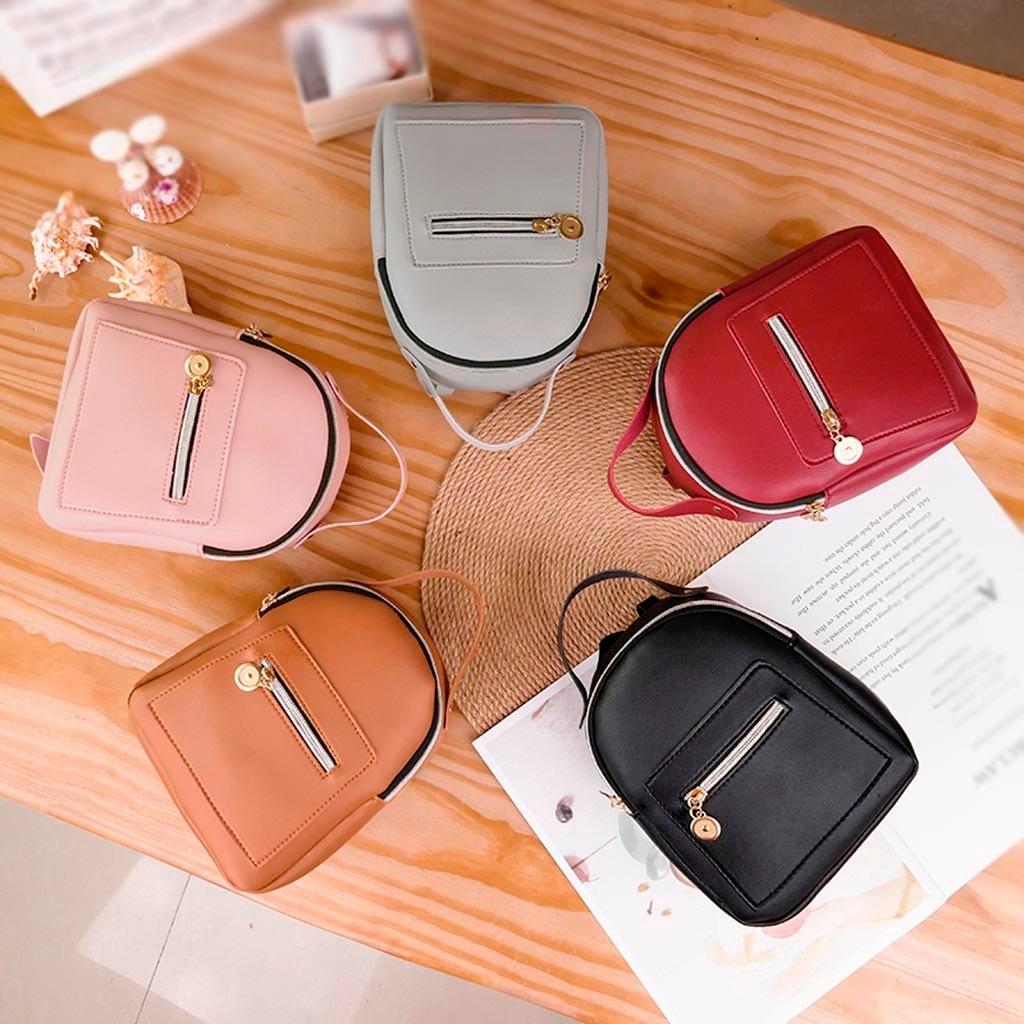 Toys For Children Mini Shoulder Bag For Teenage Girls Kids PU Leather School Backpack Mobile Phone Messenger Purse New Fashion