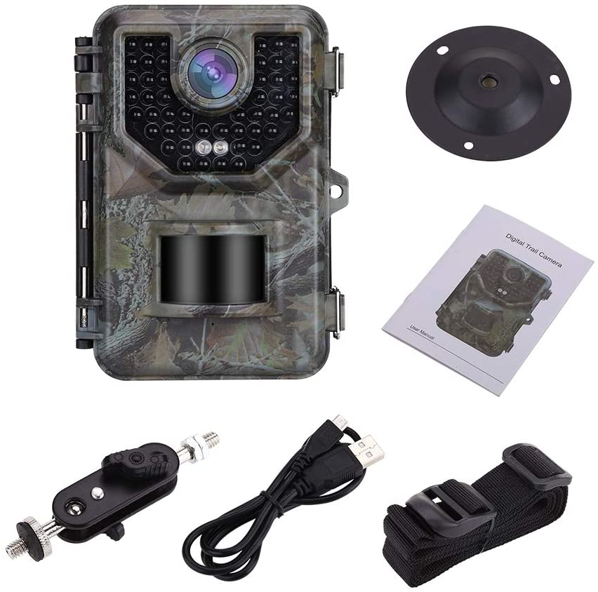 2.4inch LCD Hunting Trail Camera With Holder Stand 16MP 1080P Night Vision Waterproof Cameras Photo Trap Wildlife Surveillance
