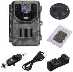 Kamera obserwacyjna myśliwska 1080P 16MP Wildlife Night Vision dzikie kamery bezprzewodowe śledząca kamera do obserwacji w Myśliwskie aparaty fot. od Sport i rozrywka na