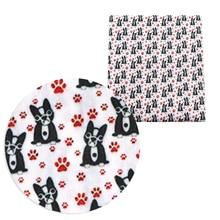 Dog-Print 100%Cotton-Fabric Garment Quilting Patchwork Fabric Tilda for Sewing Tilda/Doll/1yc12302