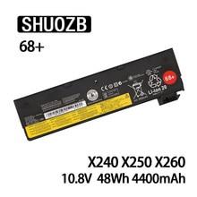 Bateria do portátil para Lenovo Thinkpad X240 X270 X260 X240S X250 T450 T470P T450S T440S K2450 W550S 45N1136 45N1738 L460 10.8V 48Wh