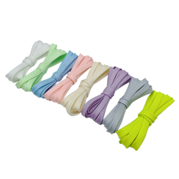 Weiou White Glowing Sport Luminous Shoelace Glow In The Dark Night Color Fluorescent Shoestring Athletic Flat Shoe Laces