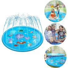 Sprinkler-Mat Pool-Toy Round Outdoor Water Spray Game-Pad Splash Swiming Kids Inflatable
