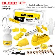 Universal Bicycle Hydraulic Disc Brake Bleed Kit BikeTool Kit for shimano&tektro&magura&hayes&formula&sram&avid&giant&nutt brake