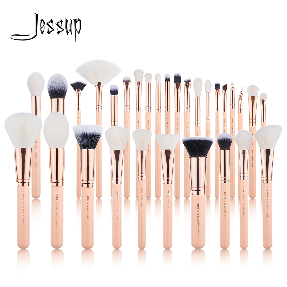 Jessup Brushes 6pcs-30pcs Makeup Brushes Set Beauty Kits Cosmetic Make Up Brush POWDER FOUNDATION EYESHADOW CONCERLER