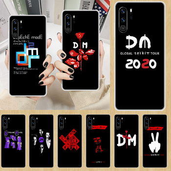 Depeches mode band DM Phone Case hull For HUAWEI p 8 9 10 20 30 40 smart Lite 2017 19 Pro Z transparent prime silicone coque image