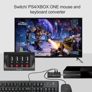 Image 4 - IPega PG 9133 السلكية لوحة مفاتيح وماوس محول محول ل N التبديل/PS4/XBOX ONE لعبة وحدة التحكم ل FPS الألعاب