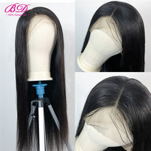 BD Hair 13X6 Silky Straight Lace Front Human Hair Wigs Brazilian Remy Hair Lace Wig for Black Women with Baby Hair Short Bob Wig