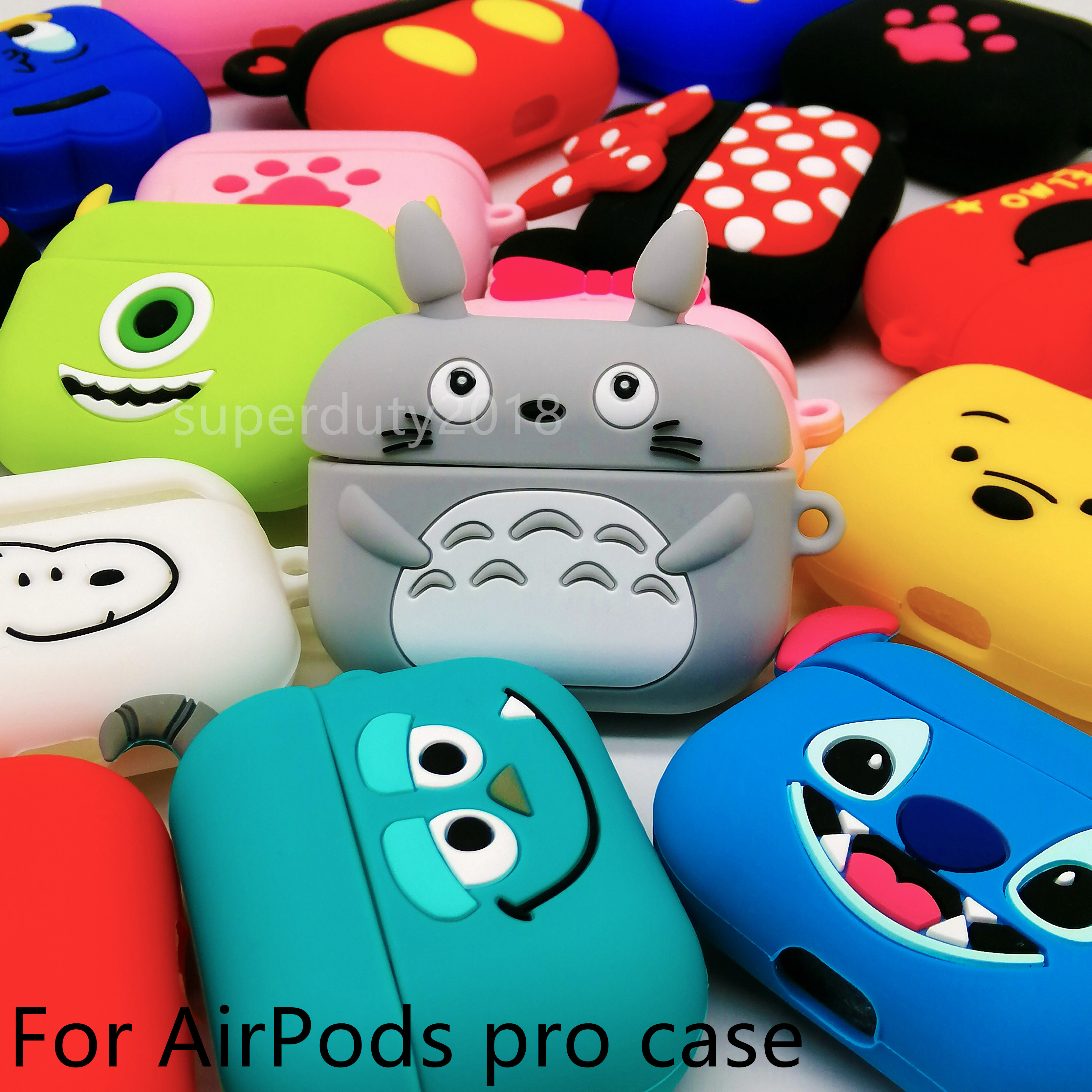 Cartoon Cute Case For Airpods Pro Case Wireless For Airpods Pro 3 Case Cover For AirPods Pro Silicone Headphones Case Protective
