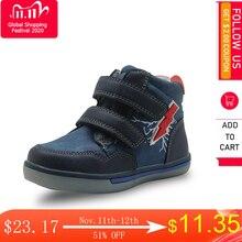 Apakowa bottes Martin pour tout petits, avec fermeture éclair, tendance, chaussures pour enfants, avec soutien darc, automne et hiver